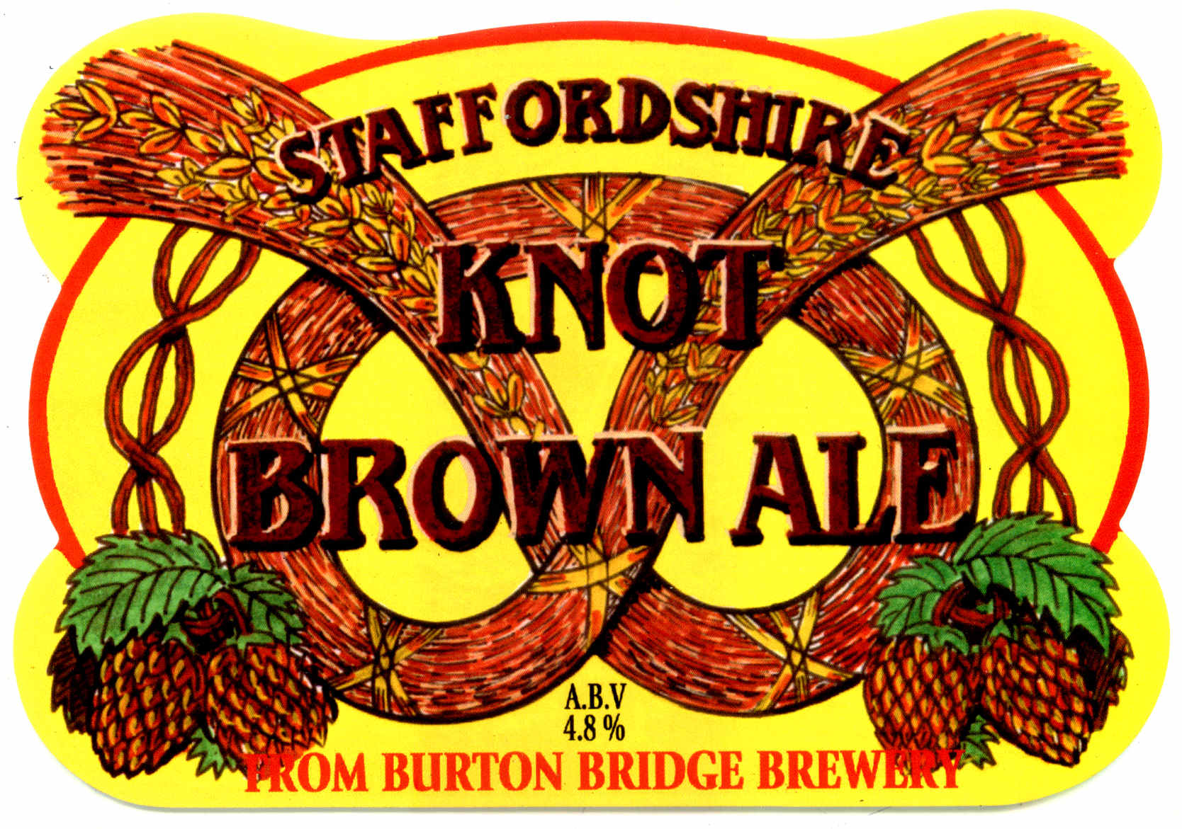 Staffordshire Knot Brown